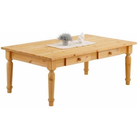 Home affaire salontafel Noah, met mooi gedraaide tafelpoten in 3 verschillende kleuren