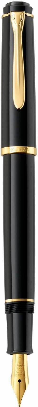 Pelikan vulpen, »Classic P 200, zwart, vergulde edelstalen punt, schrijfpuntbreedte M« goedkoop op otto.nl kopen