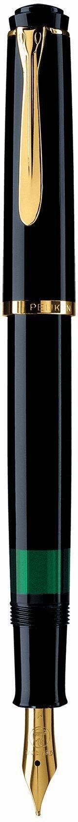Pelikan vulpen, »Classic M 200, zwart, vergulde edelstalen veer, veerbreedte F« - gratis ruilen op otto.nl