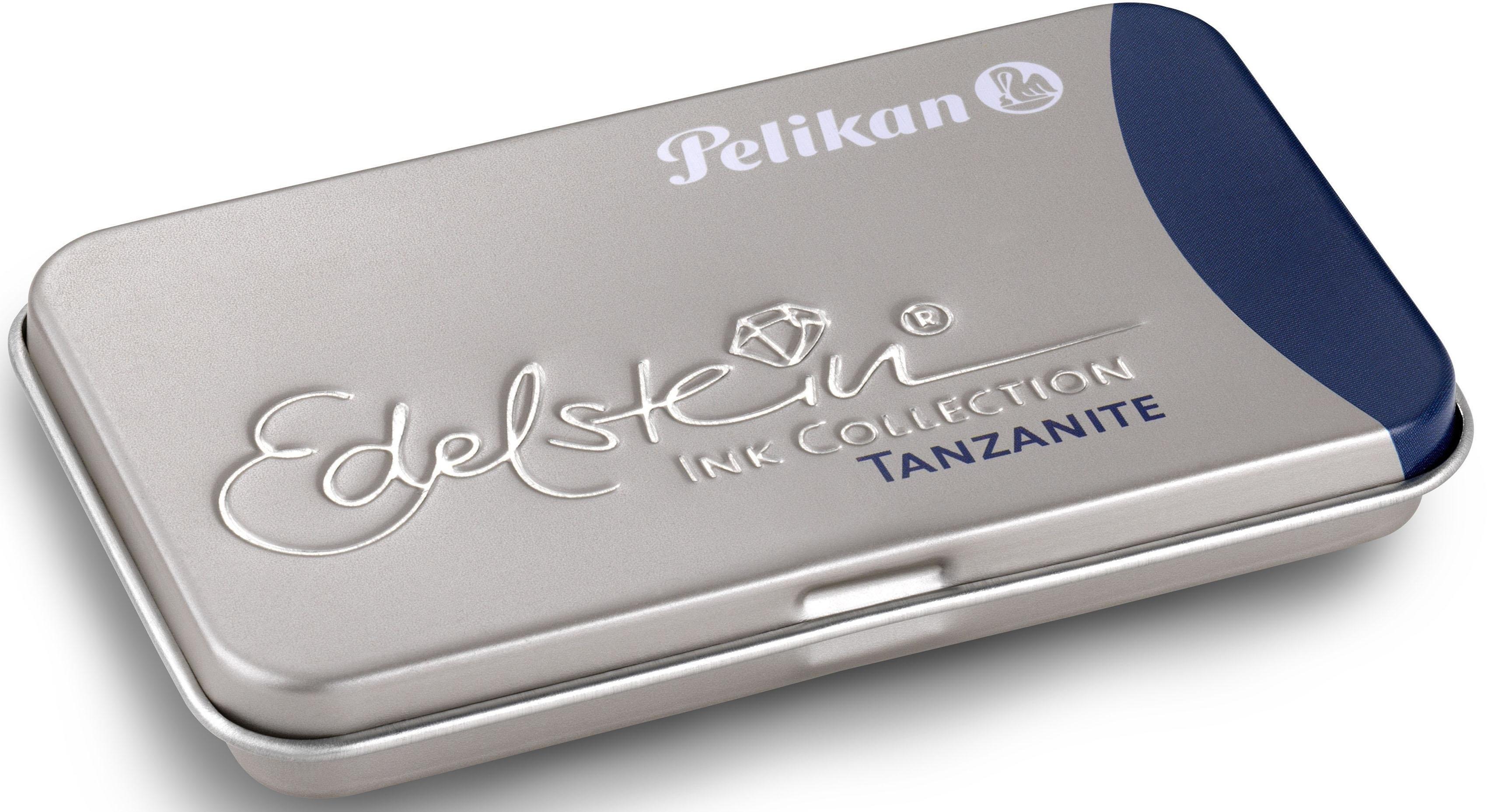 Pelikan inktpatronen, »Edelstein® Ink in metalen houder, Tanzanite« bestellen: 14 dagen bedenktijd