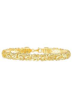 firetti koningsarmband »klassiker, ca. 7,0 mm breit« goud
