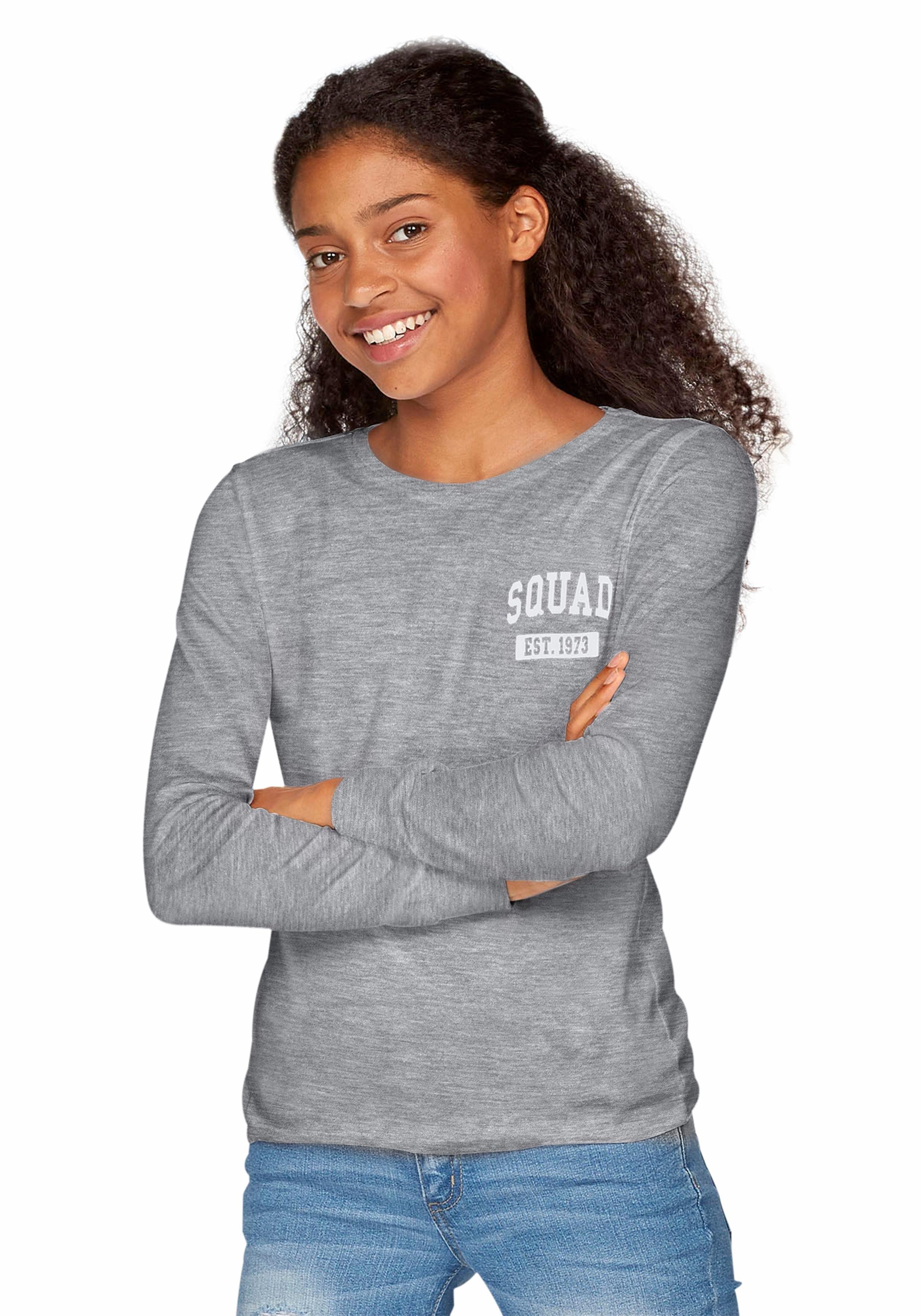 ARIZONA shirt met lange mouwen bij OTTO online kopen