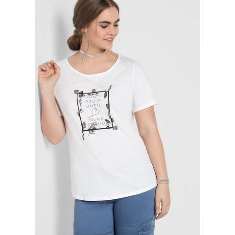 NU 15% KORTING: sheego Casual T-shirt