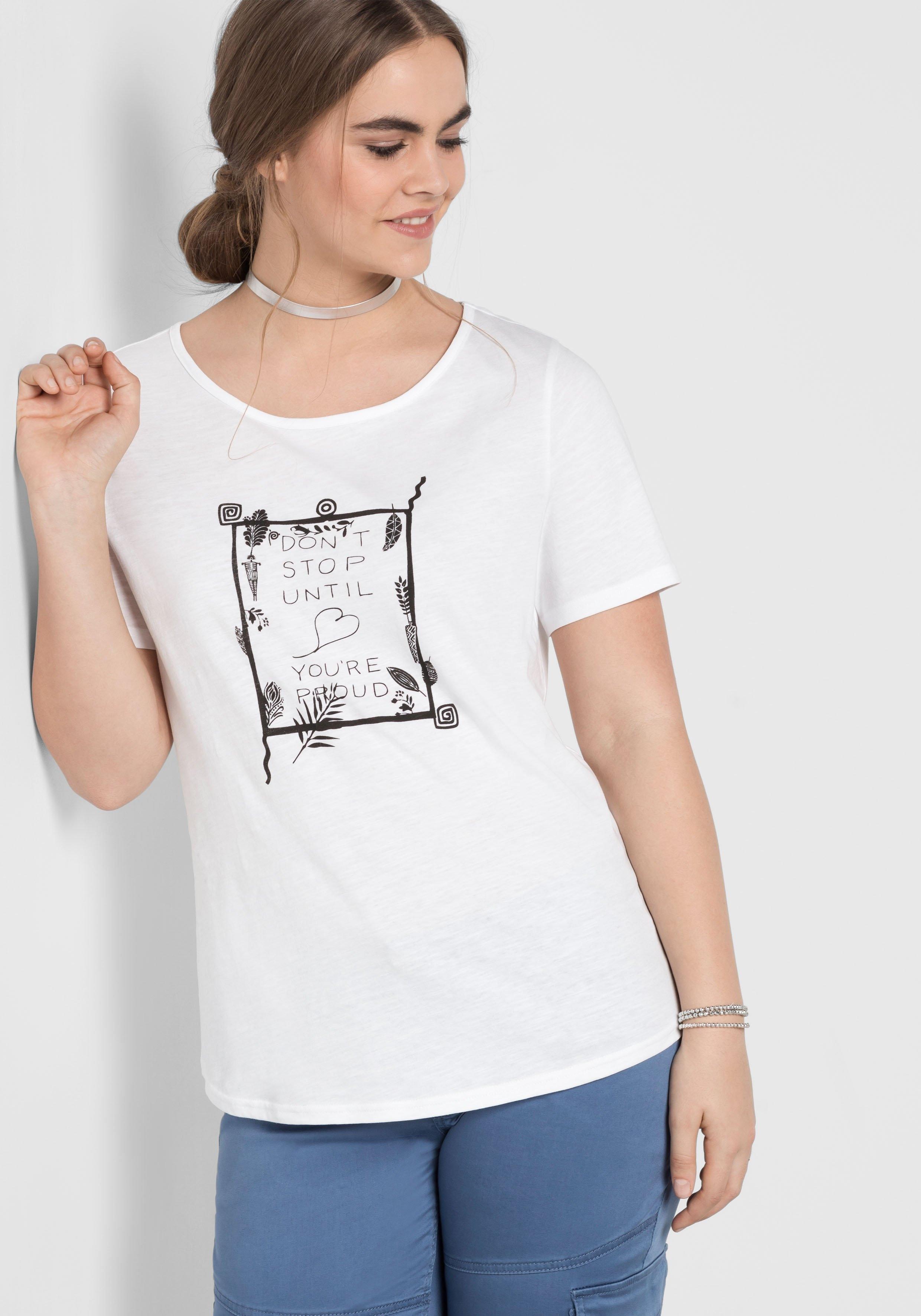 Sheego Casual T-shirt goedkoop op otto.nl kopen
