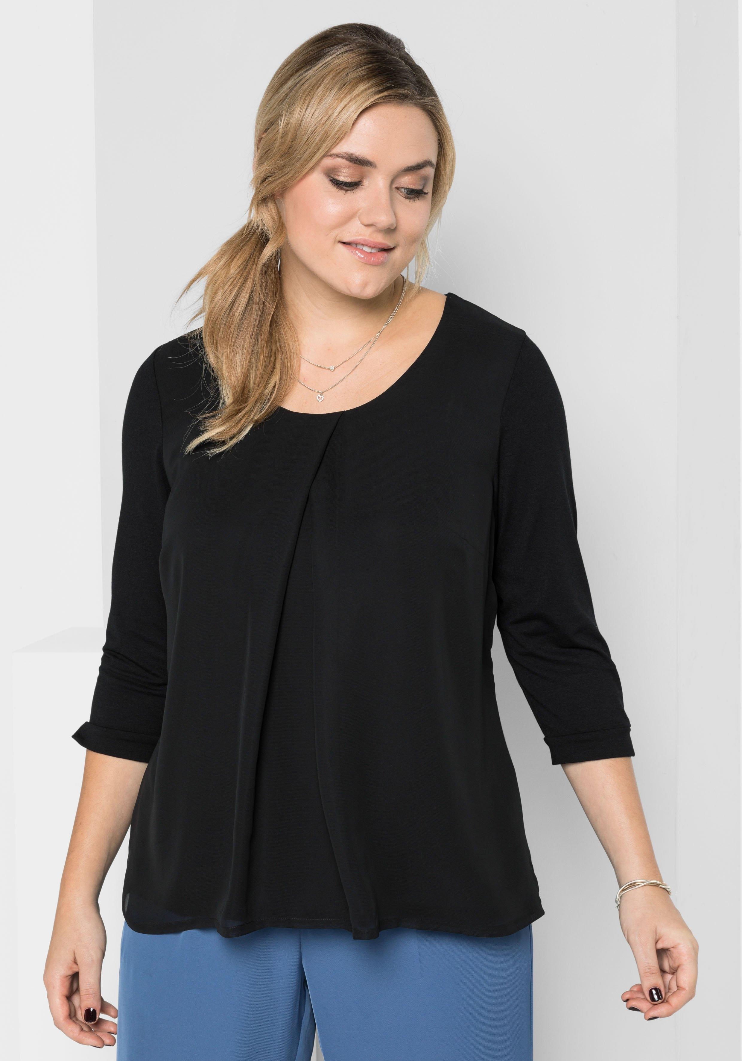 Sheego Style shirt in de webshop van OTTO kopen