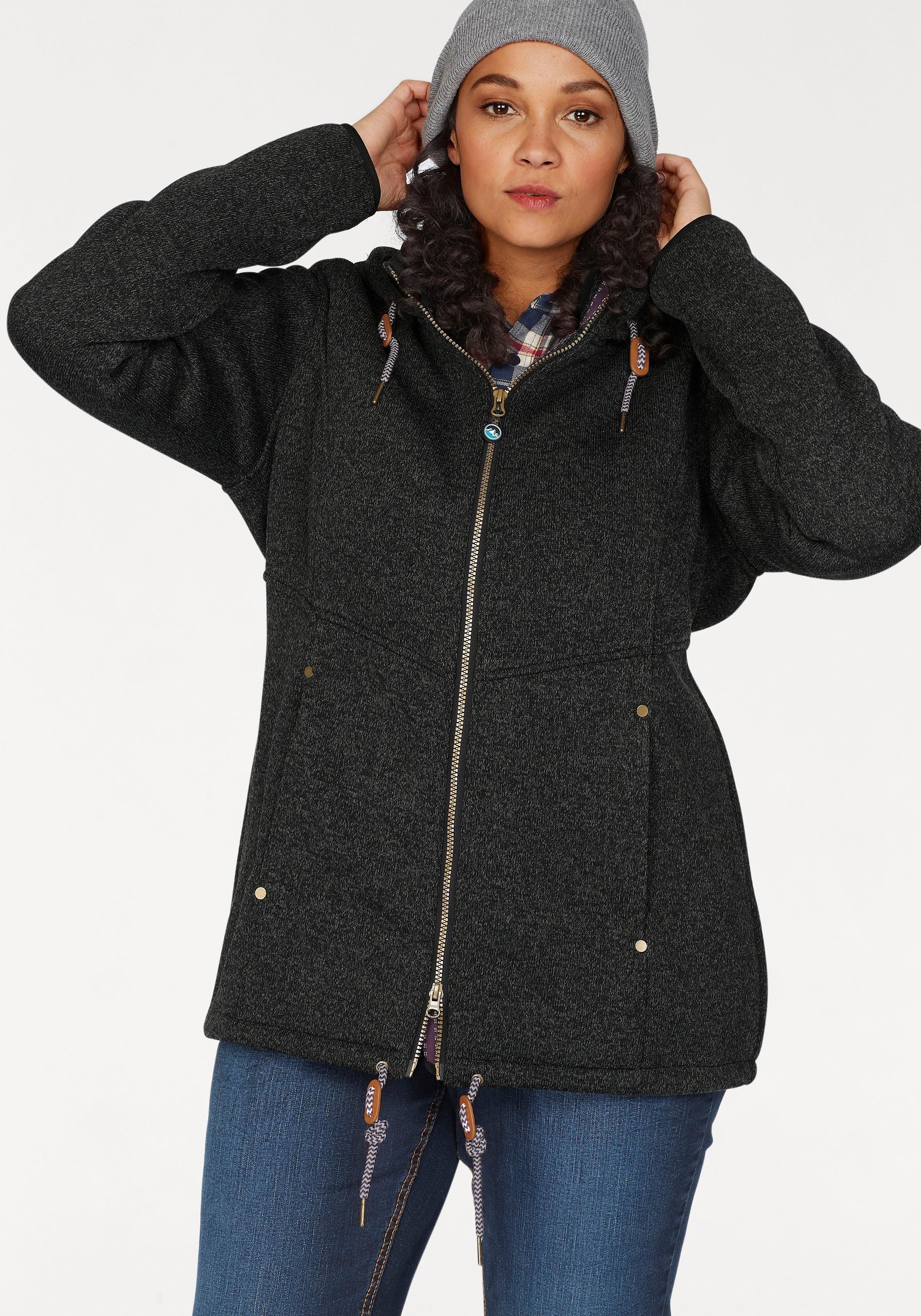Polarino tricot fleecejack nu online bestellen