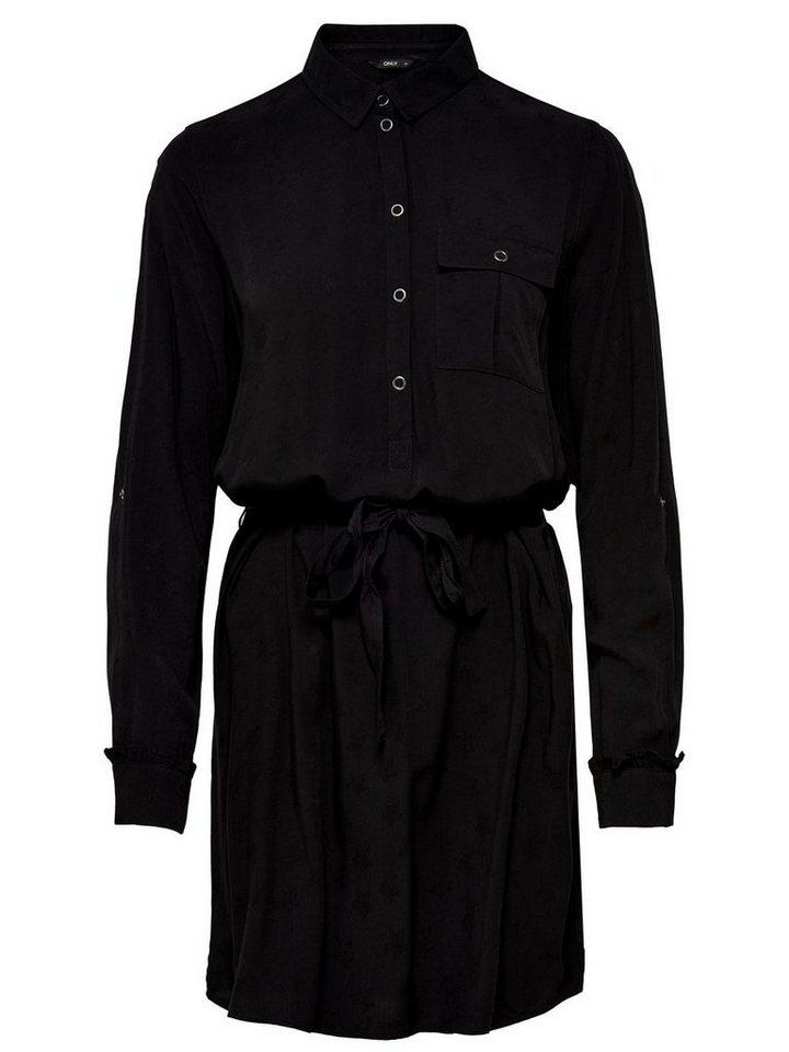 ONLY Blouse jurk zwart