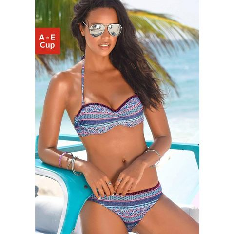 NU 15% KORTING: s.Oliver RED LABEL Beachwear beugelbikini in bandeaumodel