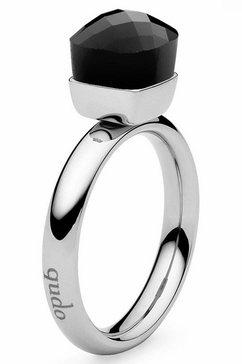 qudo ring »firenze small, 636431« zwart