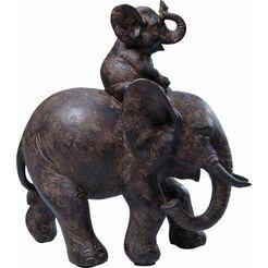 kare design decoratief figuur olifant zwart