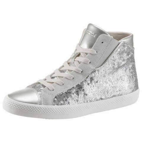 Geox damessneaker zilver