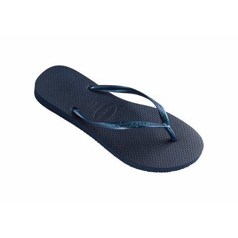 Slippers Havainas Slim dames blauw