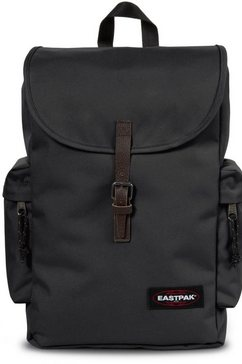 eastpak rugzak met laptopvak, »austin black« zwart