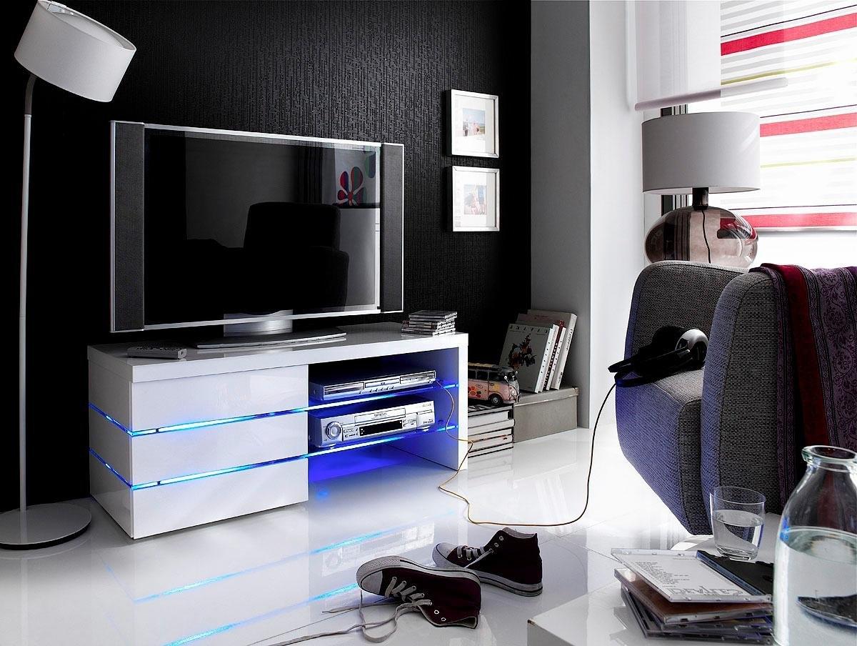 MCA furniture tv-meubel Sonia 4 ledverlichting blauw in de webshop van OTTO kopen