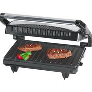clatronic »mg 3519« contactgrill zilver