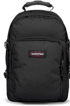 eastpak rugzak met laptopvak, »provider black« zwart