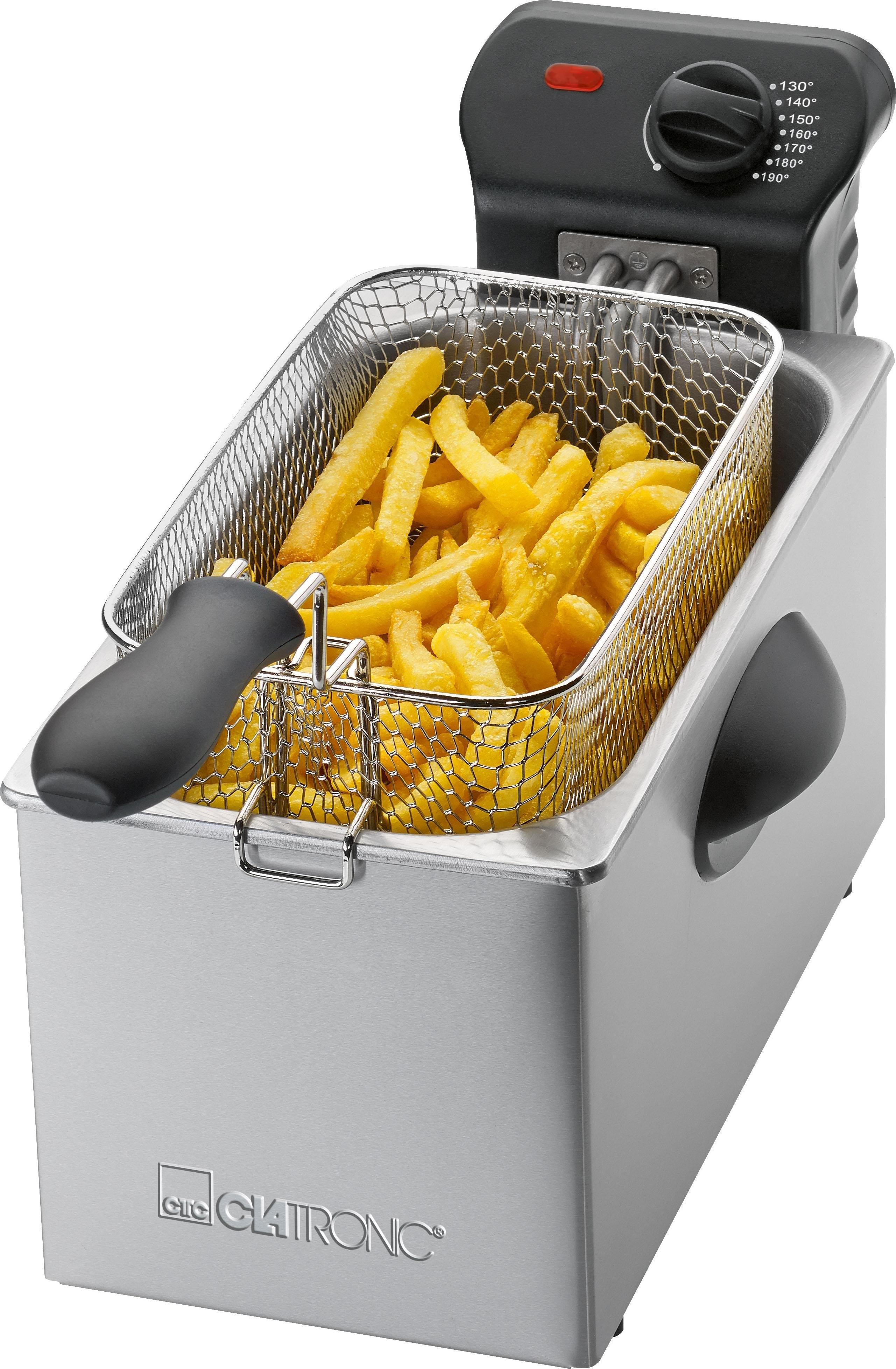 Clatronic friteuse FR 3587, 2000 W, inhoud 3 liter nu online kopen bij OTTO