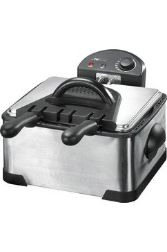 clatronic friteuse fr 3195 inhoud 0,8 kg zilver