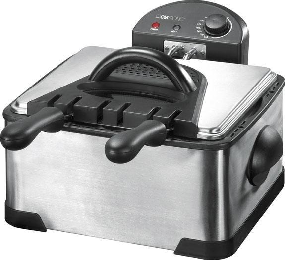 CLATRONIC friteuse FR 3195 Inhoud 0,8 kg - verschillende betaalmethodes