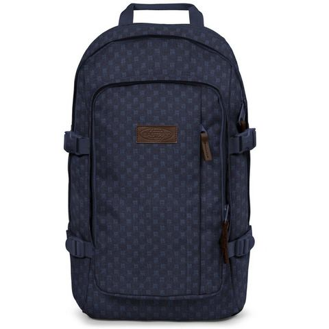 Eastpak rugzak met laptopvak, EVANZ denim checks