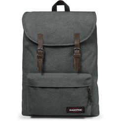 eastpak rugzak met laptopvak, »london black denim« grijs