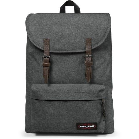 Eastpak rugzak met laptopvak, LONDON black denim