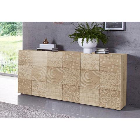 LC dressoir Miro Breedte 181 cm met decoratieve zeefdruk