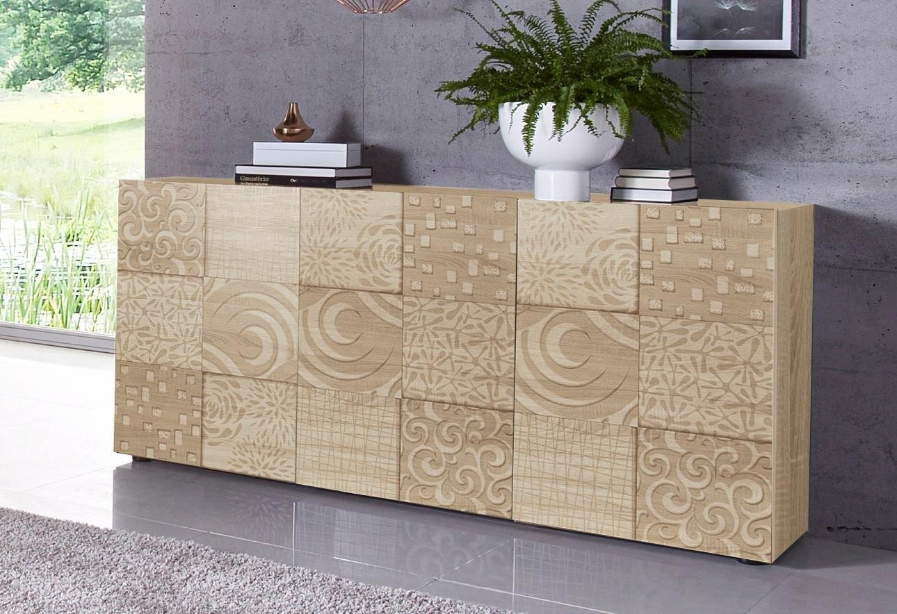 Lc »Miro« dressoir, breedte 181 cm met decoratieve zeefdruk in de webshop van OTTO kopen