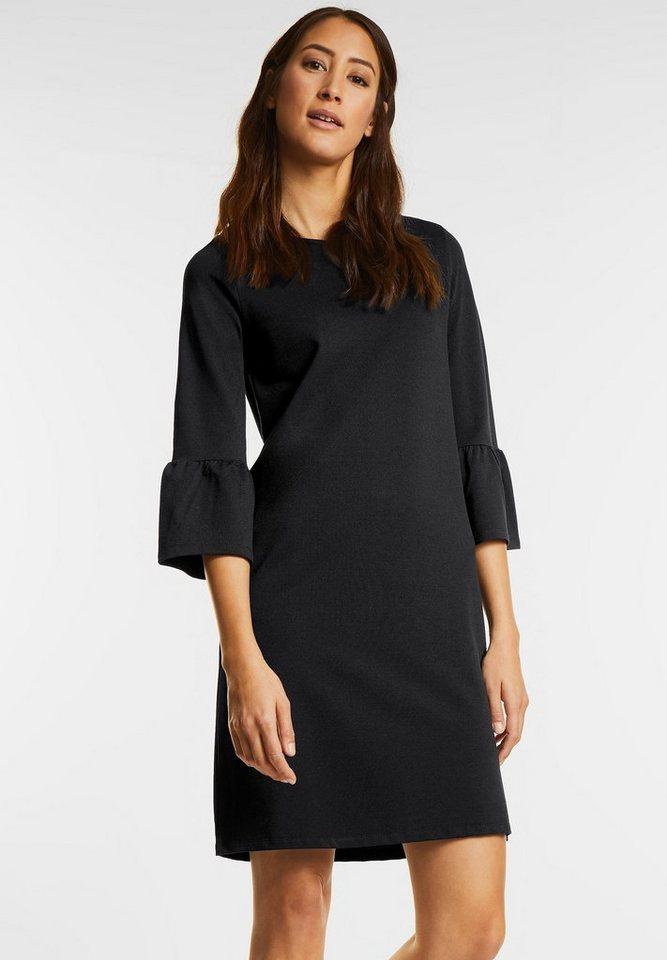 Street One jurk met volant zwart