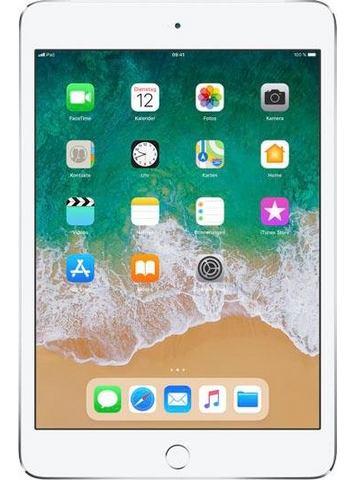 Apple iPad mini 4 WiFi + Apple SIM 128GB zilver met 9,7 inch Retina Display (MK8E2FD-A)