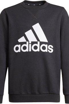 adidas performance sweatshirt adidas boys essentials big logo sweatshirt zwart