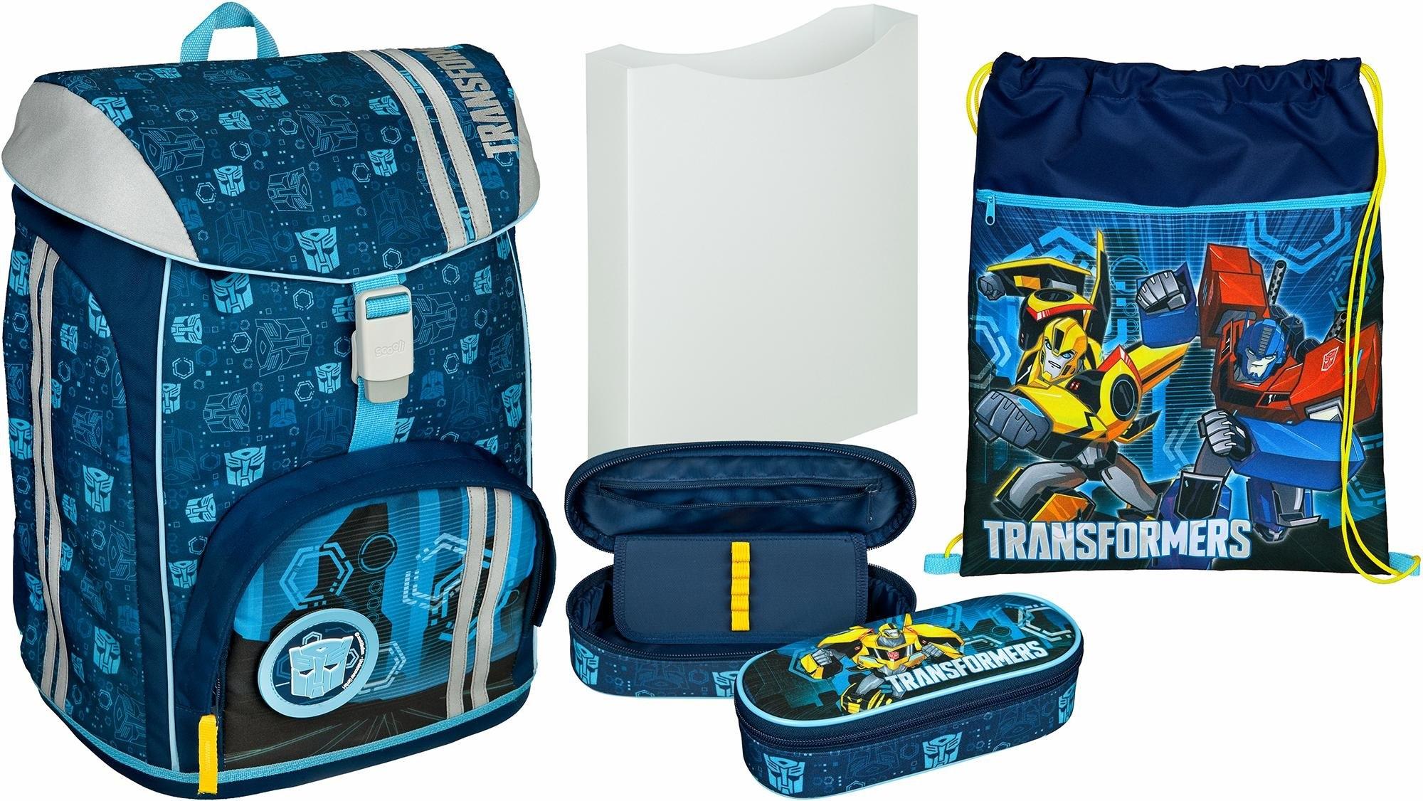 Op zoek naar een Scooli schoolrugzak set 5-dlg., »FlexMax Transformers«? Koop online bij OTTO