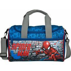 scooli sporttas, »spiderman« blauw
