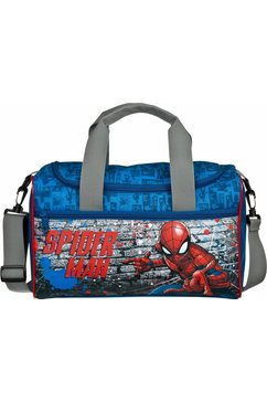 scooli sporttas, »spiderman« blauw