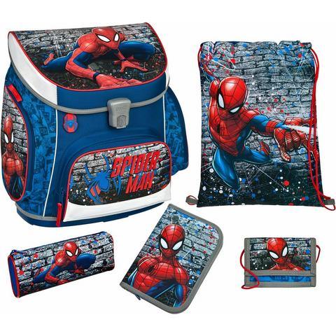 Scooli schooltas set 5-dlg., Campus Up Spiderman