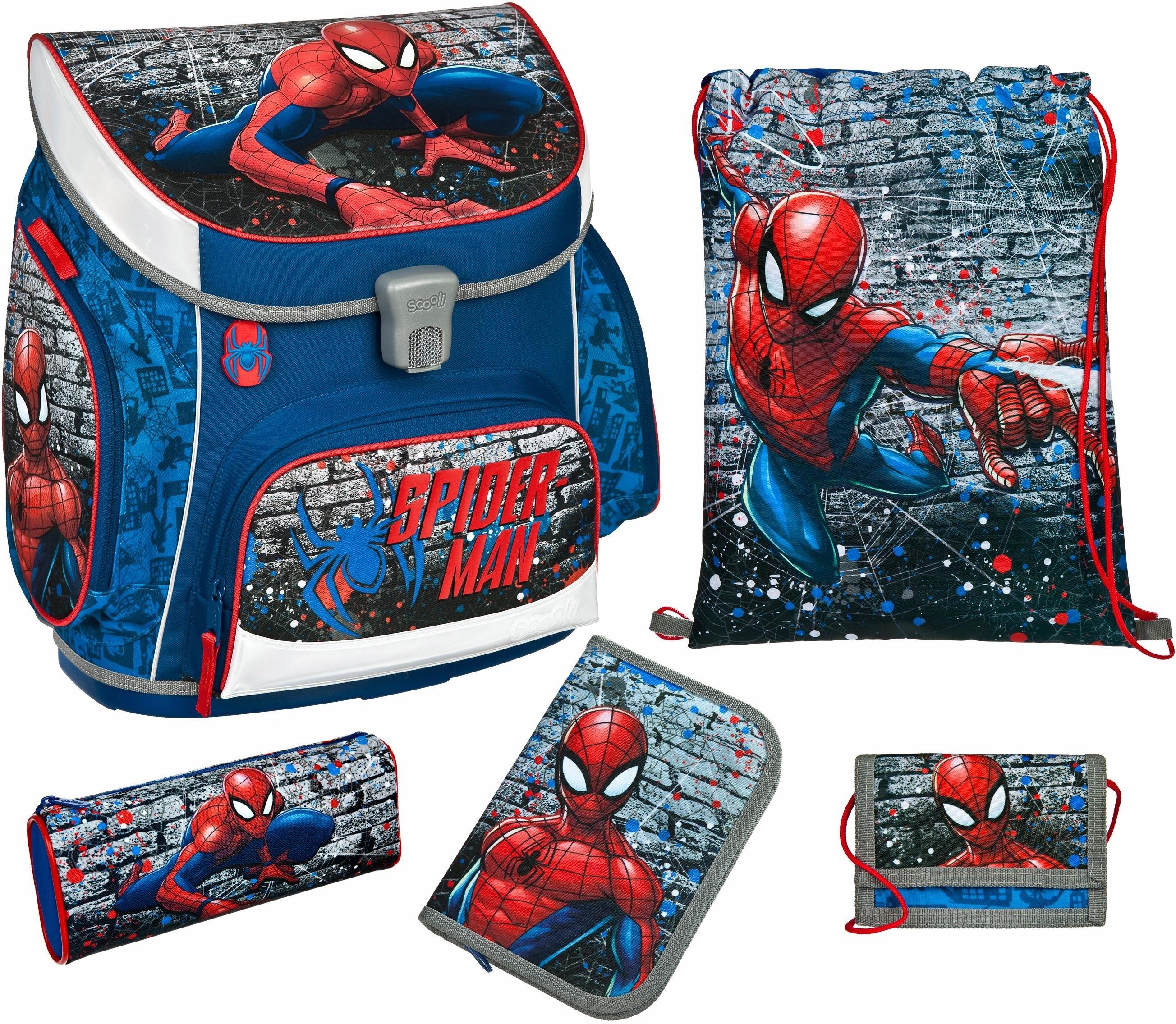 Scooli schooltas set 5-dlg., »Campus Up Spiderman« bij OTTO online kopen