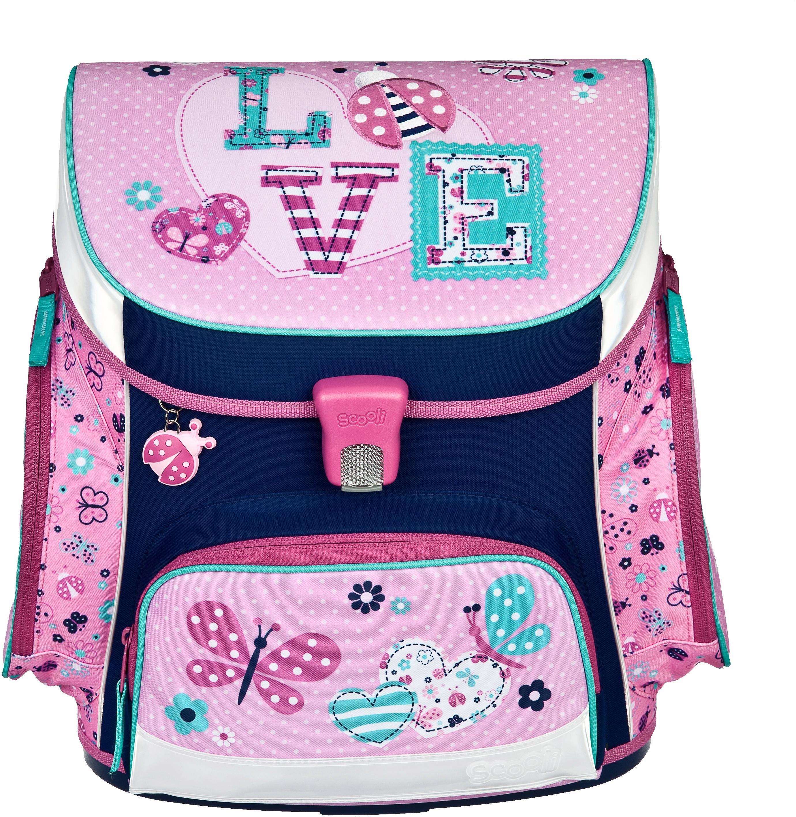 2ff0ad9b653 Scooli schooltas set 5-dlg., »Campus Up Ladybug« in de online winkel ...