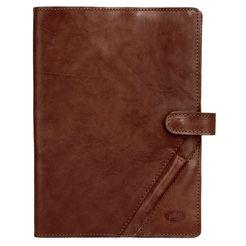 piké notitieboek leonardo elastisch bruin