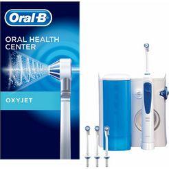 oral-b reinigingssysteem oxyjet met monddouche wit
