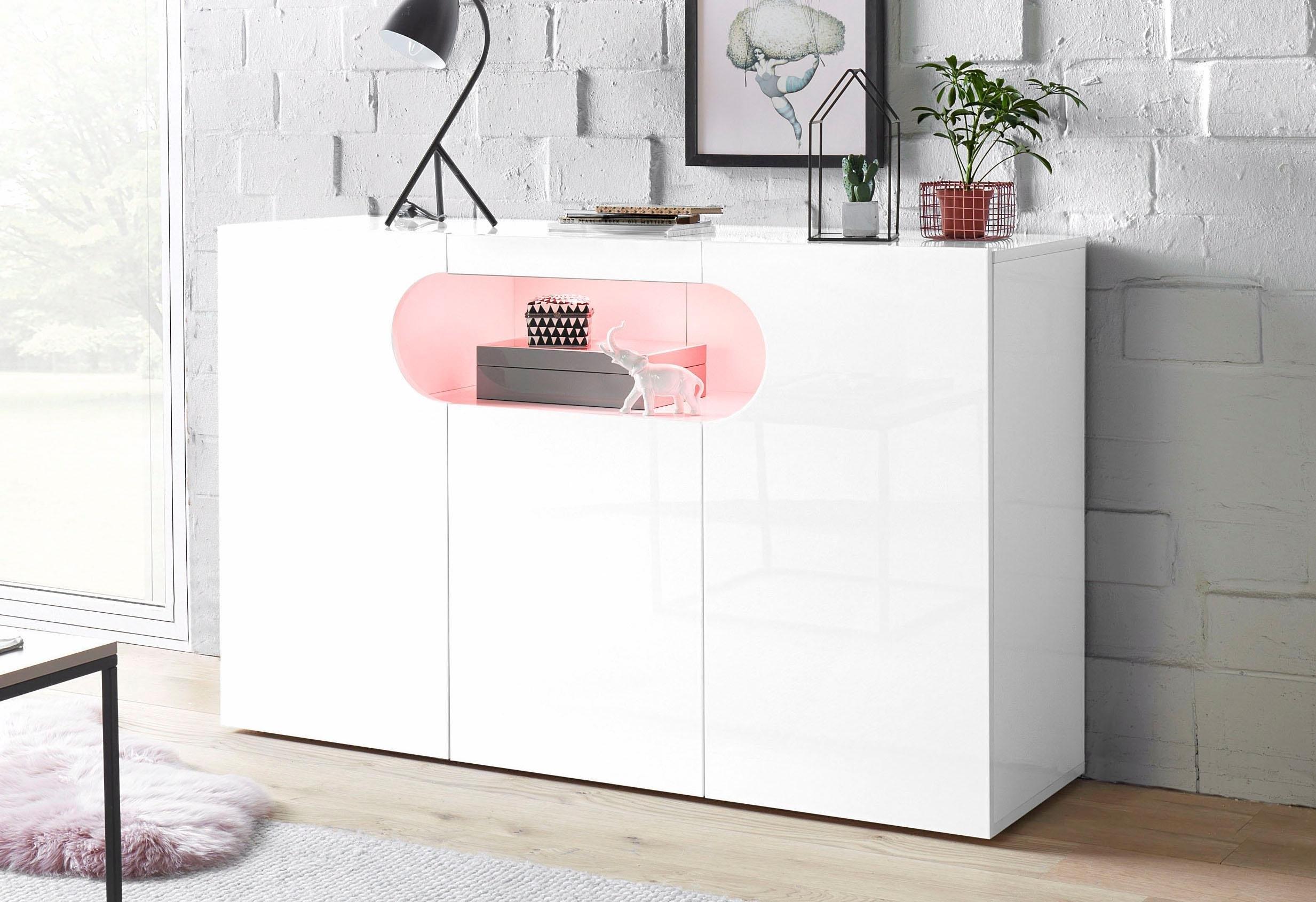 Tecnos dressoir »Real«, breedte 130 cm online kopen op otto.nl