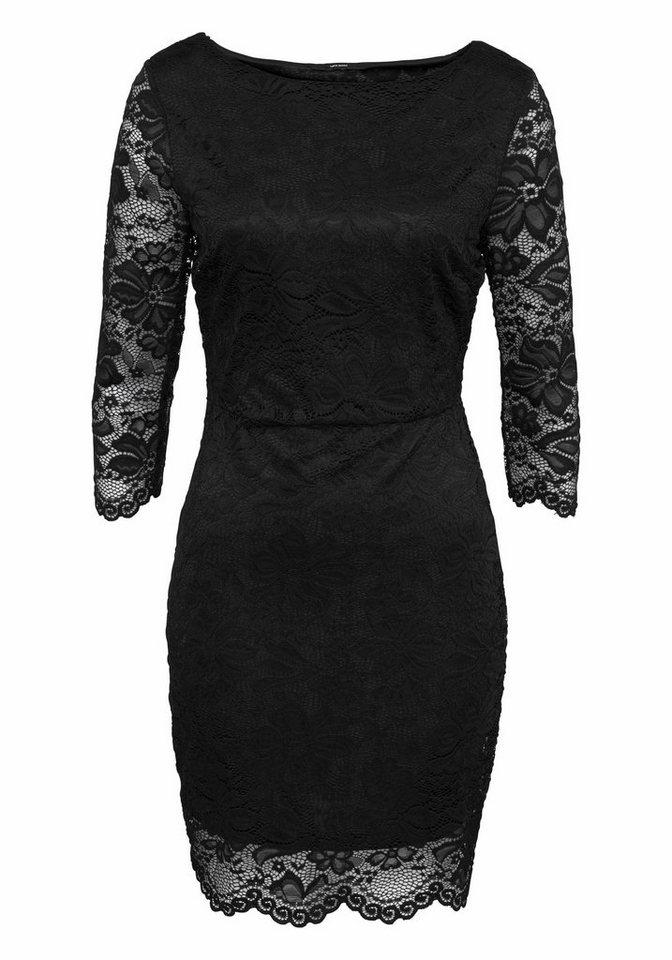 Vero Moda kanten jurk PETUNIA zwart