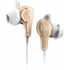 ready2music in-ear-hoofdtelefoon titanium micro usb-oplaadpoort goud