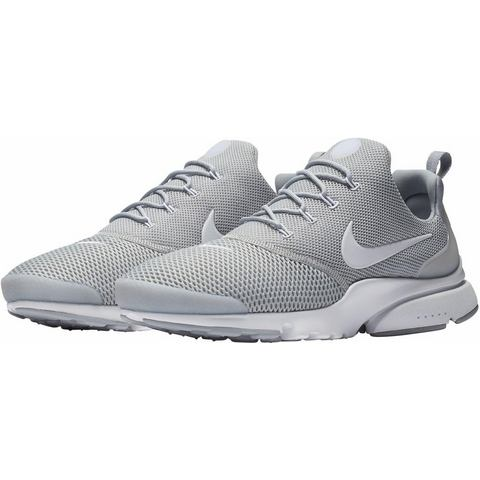 Nike Presto Fly herensneaker grijs en wit