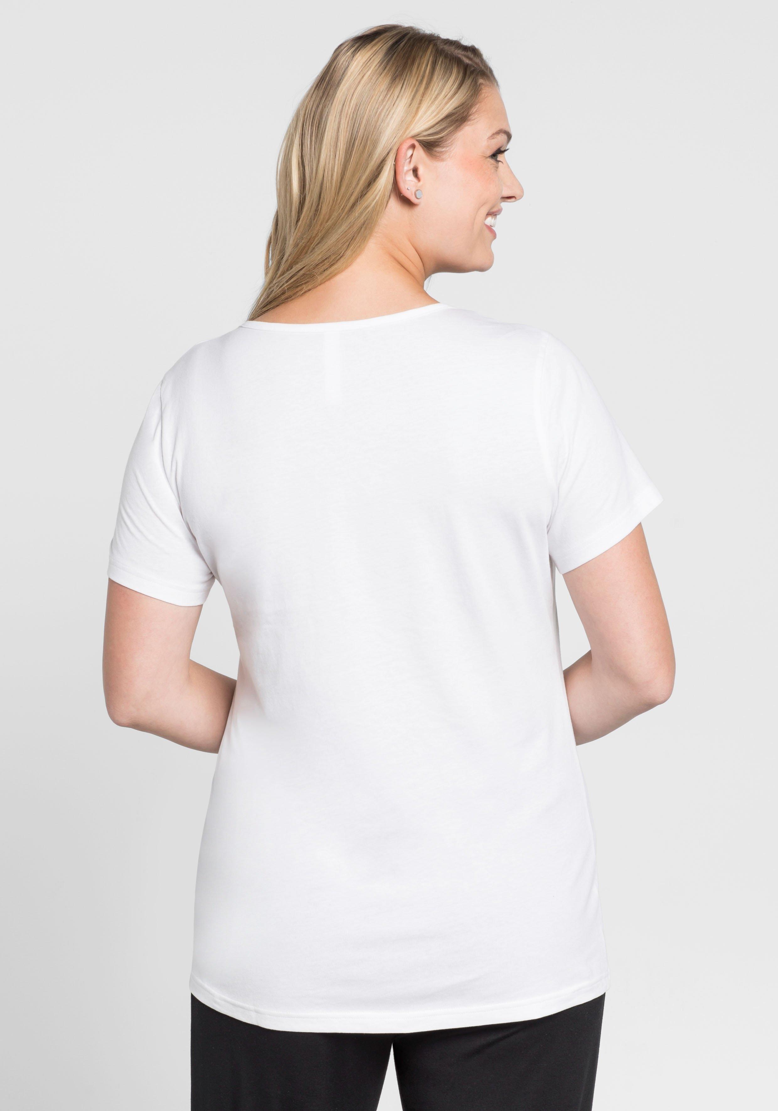 Sheego Online Nu T Kopen shirt Casual hxrtsQdC
