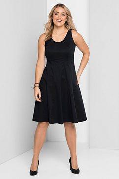 sheego style zomerjurk zwart