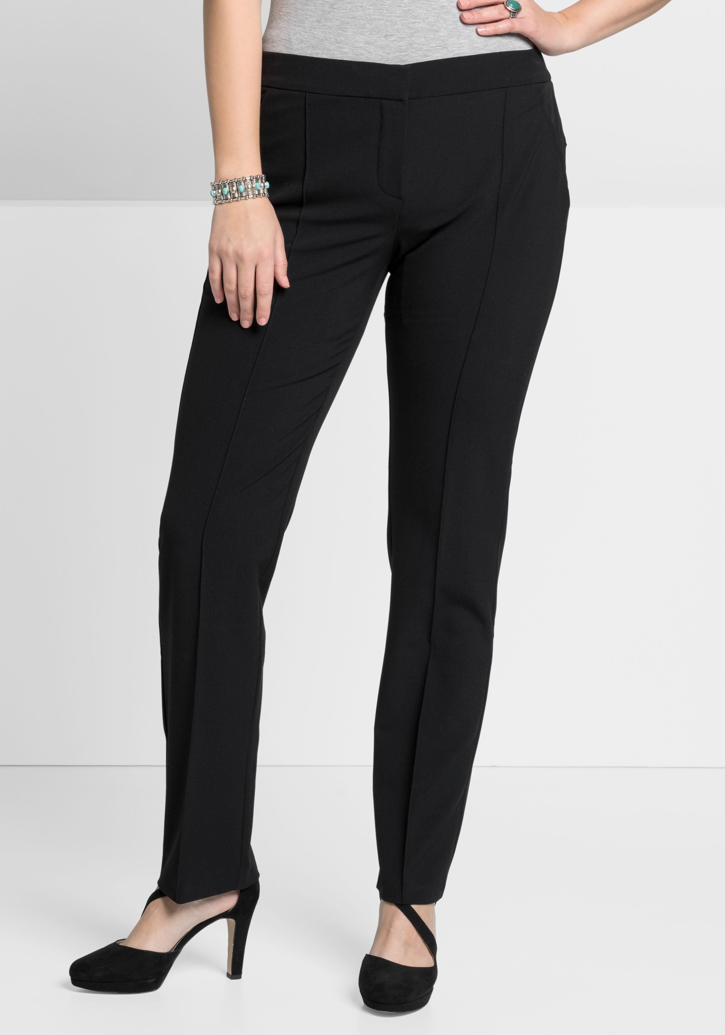 Sheego Style geweven broek in de webshop van OTTO kopen