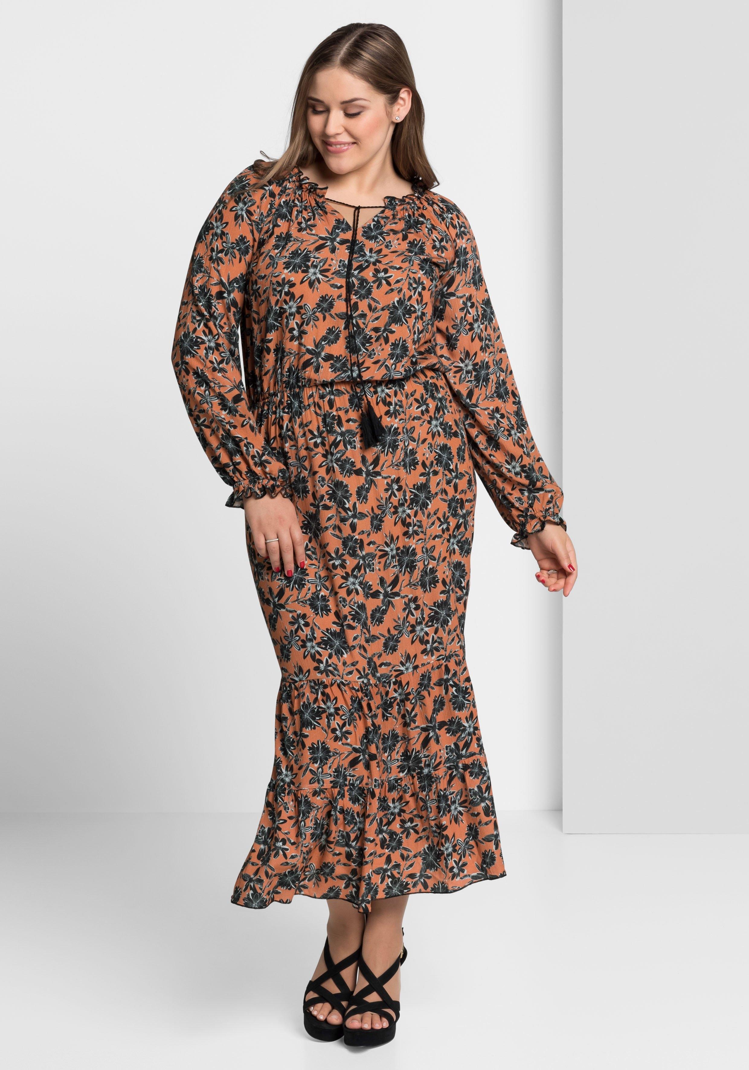 Anna Scholz For Sheego maxi-jurk bestellen: 14 dagen bedenktijd