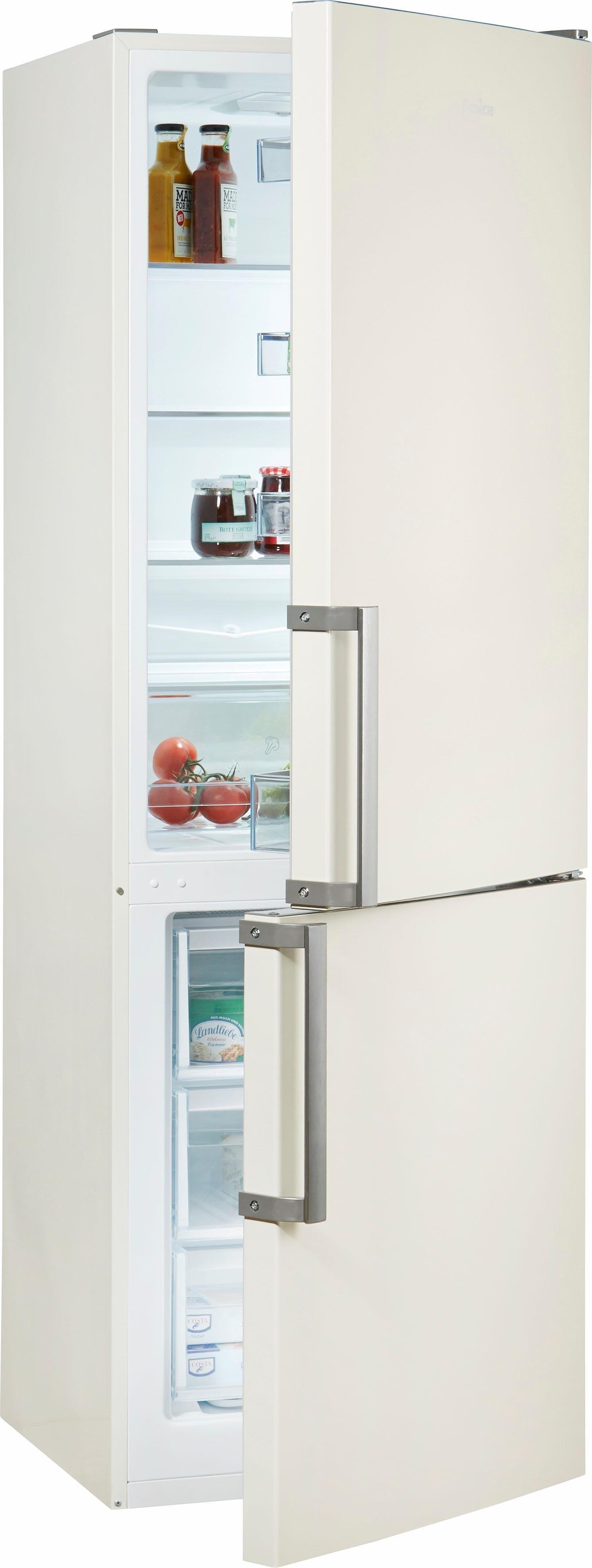Amica koel-vriescombinatie, 185,5 cm hoog, 59,5 cm breed voordelig en veilig online kopen