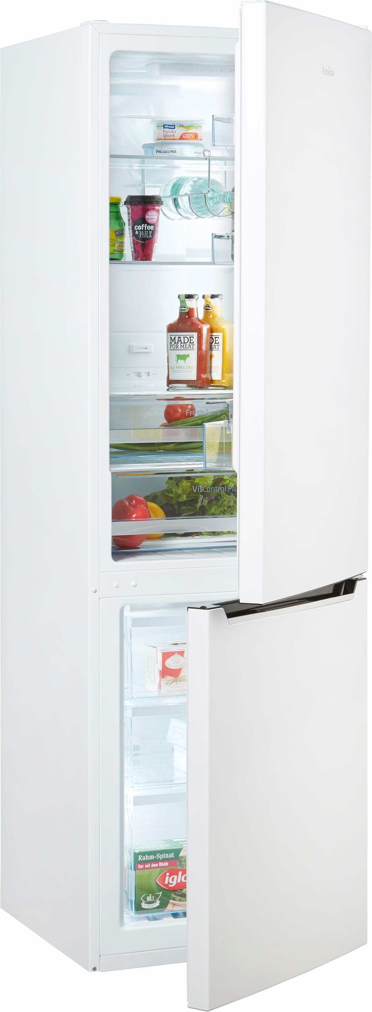 Amica koel-vriescombinatie, 180 cm hoog, 54,5 cm breed in de webshop van OTTO kopen