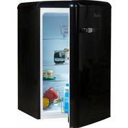 amica koelkast vks 15624 s, a++, 86 cm hoog zwart